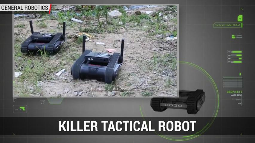 Dogo The Killer Tactical Robot From General Robotics | Autoblog Minute
