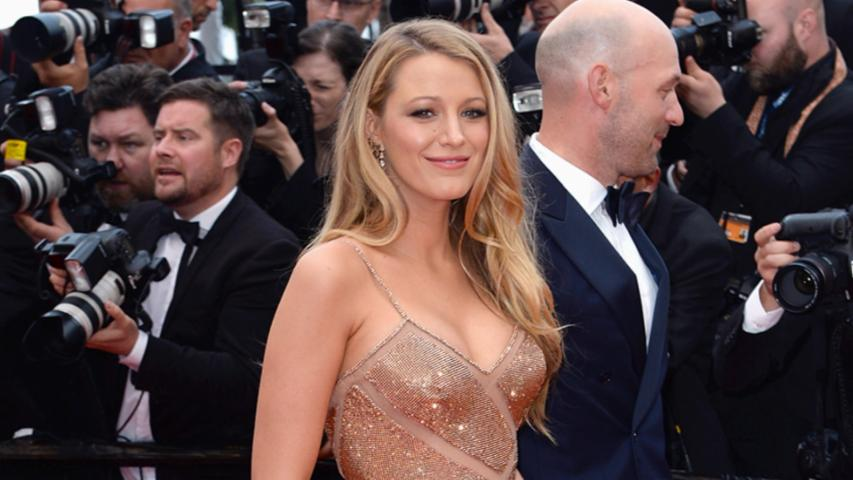 Blake Lively Displays Her Tiny Baby Bump