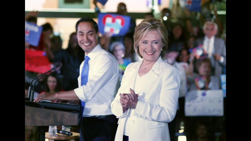 Julian Castro on Becoming Clinton's VP: 'That's Not Going to Happen'