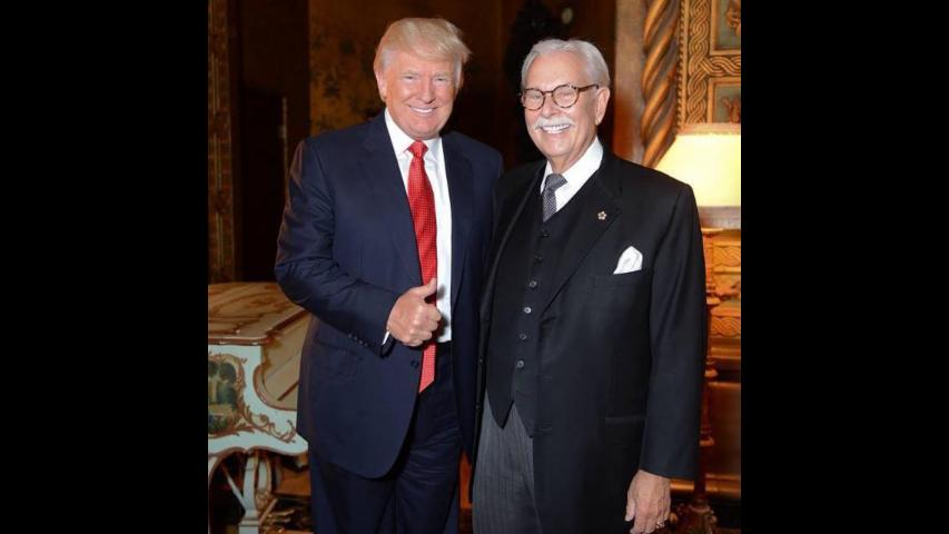 Trump's longtime butler calls for Obama to be shot dead