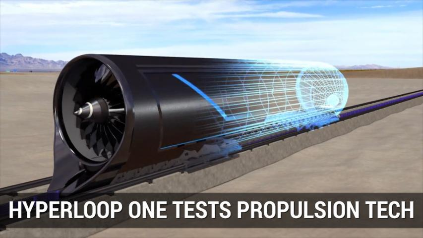 Hyperloop One Tests Propulsion Tech In Desert | Autoblog Mintue
