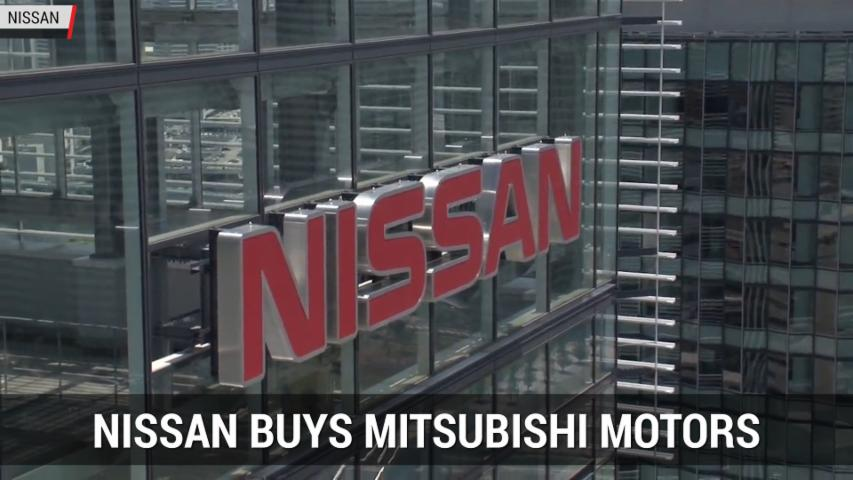Nissan To Buy Mitsubishi For $2.2B | Autoblog Minute