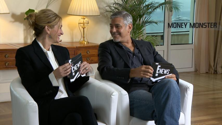 Watch George Clooney & Julia Roberts Interview Each Other!