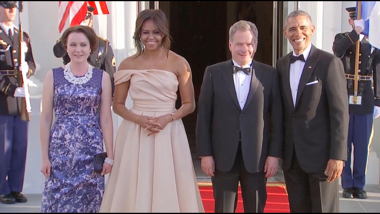 Obamas welcome Nordic countries for state dinner