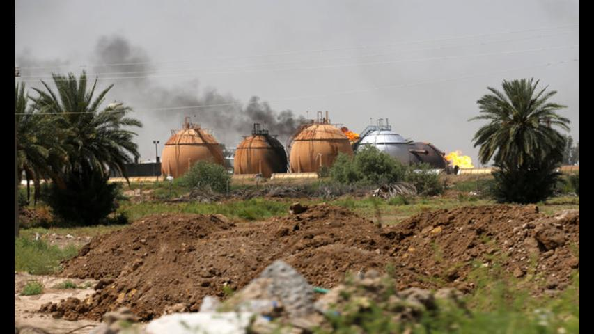 Islamic State attack on natural gas plant in Iraq kills 14 people