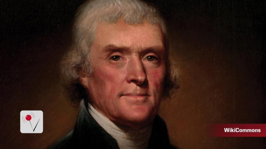 Someone Bought A Lock Of Thomas Jefferson's Hair For Nearly $7K