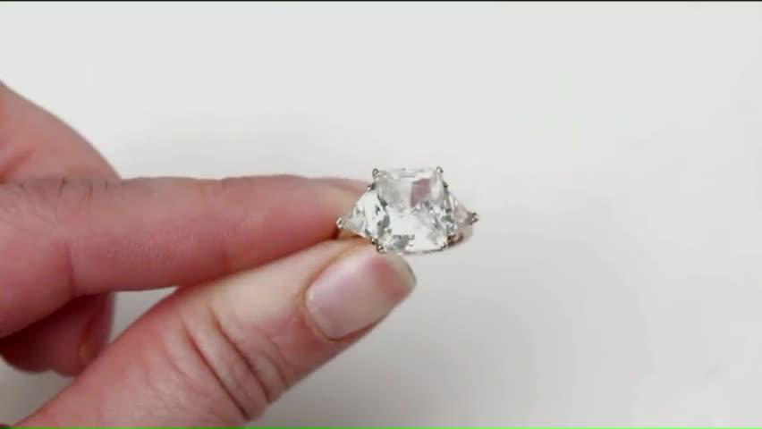 Desperate man searching for half million dollar engagement ring stolen from h