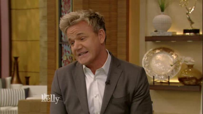 """LIVE with Kelly"": Gordon Ramsay Baby"
