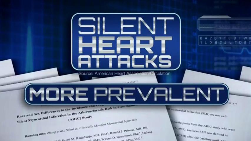 Half of Heart Attacks Are Silent, Study Says