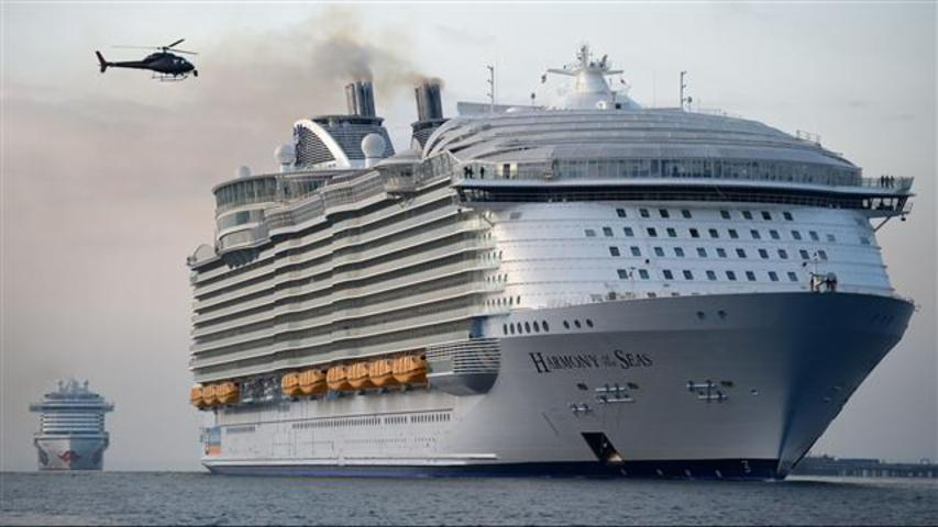 World39s Largest Cruise Ship Harmony Of Seas Docks At UK Port  AOL News