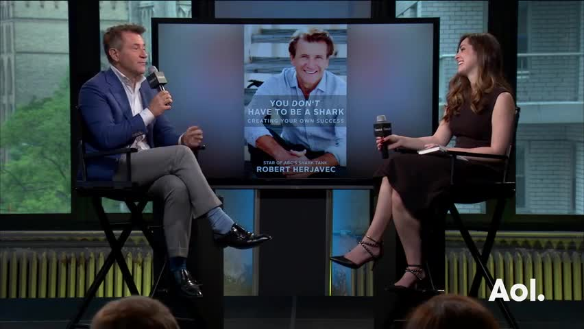 "Robert Herjavec On ""You Don't Have To Be A Shark: Creating Your Own Success"""