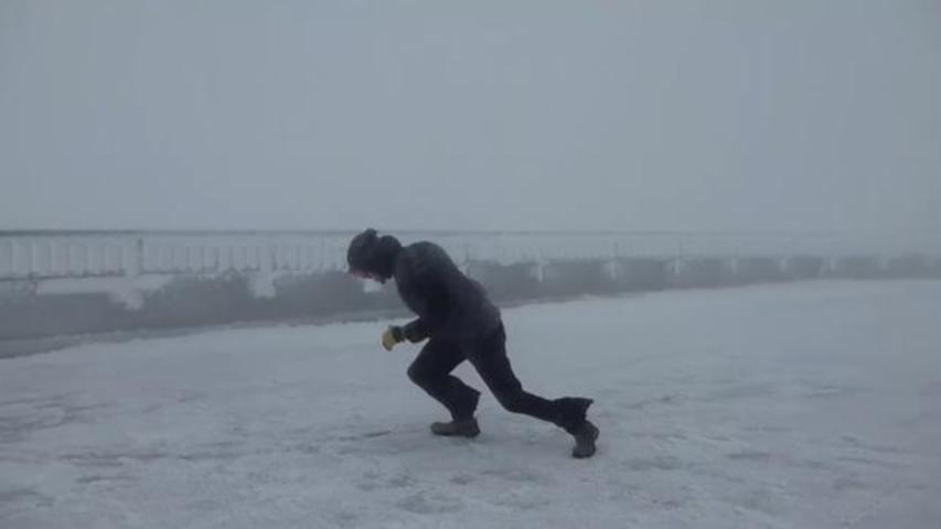 Video Of Observatory Staffers Playing In 100 MPH Winds Goes Viral