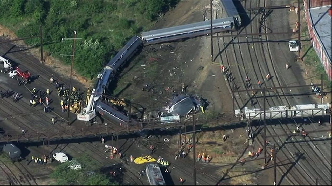 NTSB: Distraction Key in Philly Amtrak Crash