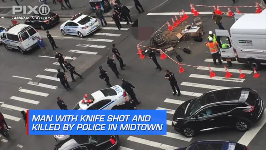 Knife-Wielding Man Shot and Killed by Police in NYC