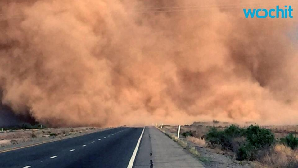 Dust Storms Begin to Take Shape in the Southwest