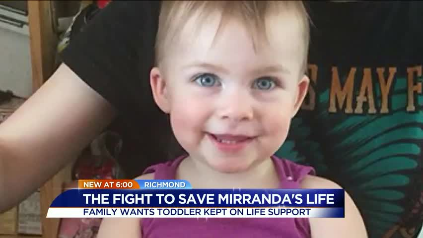Family Fighting To Keep Toddler On Life Support