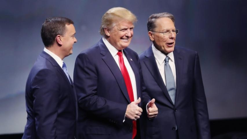 Not Everyone's on Board With the NRA's Donald Trump Endorsement