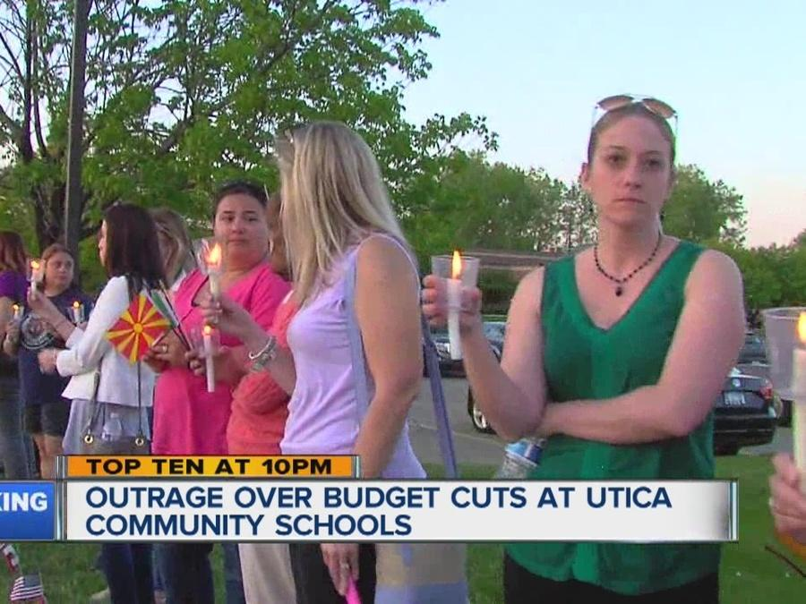 Parents outraged over school cuts