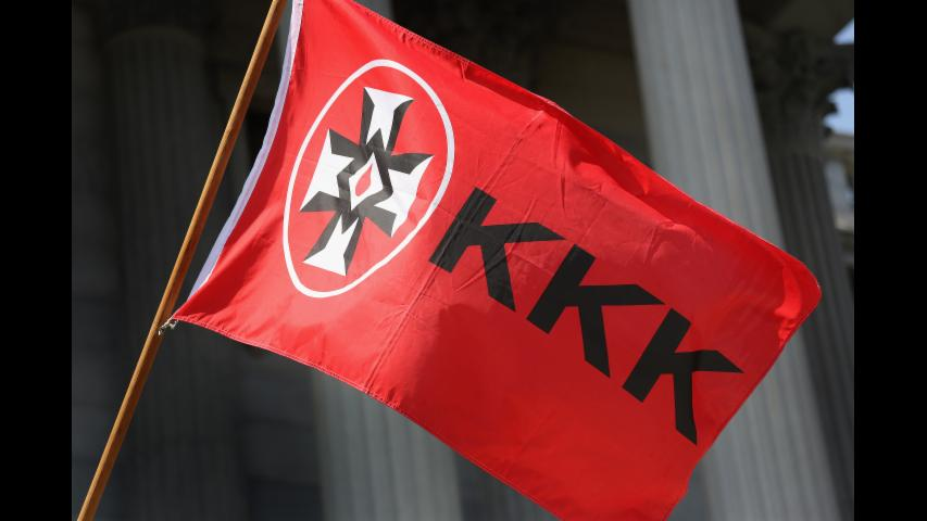 Video pitch: KKK recruit new members with anti-transgender fliers in Alabama