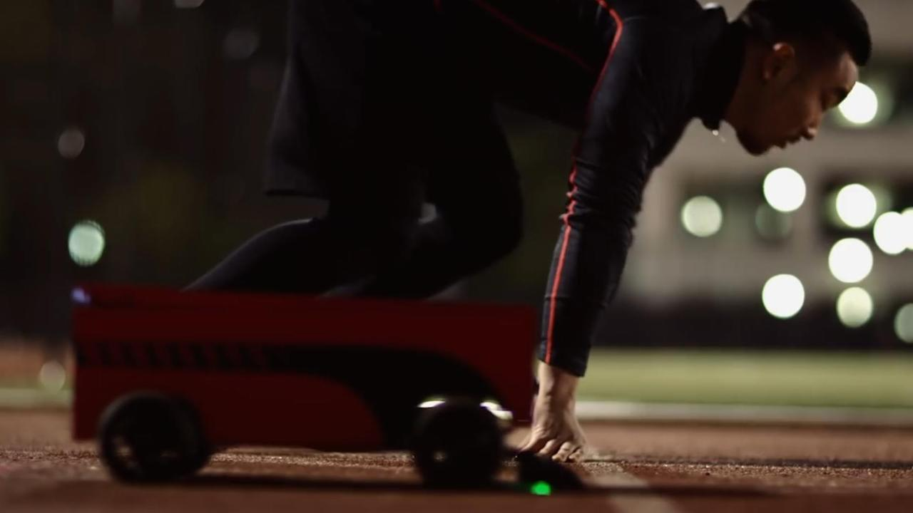 This Robot Is Training Usain Bolt