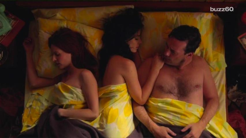 Hottest movie threesome