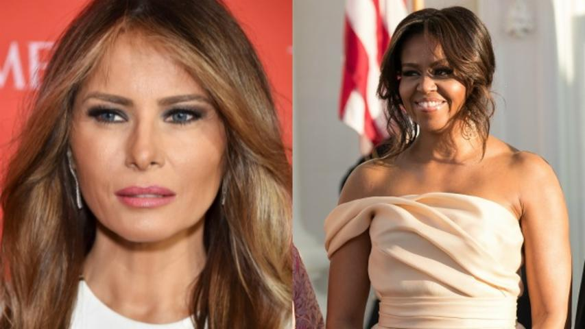Sexy photo of Melania Trump used to call out Michelle Obama haters