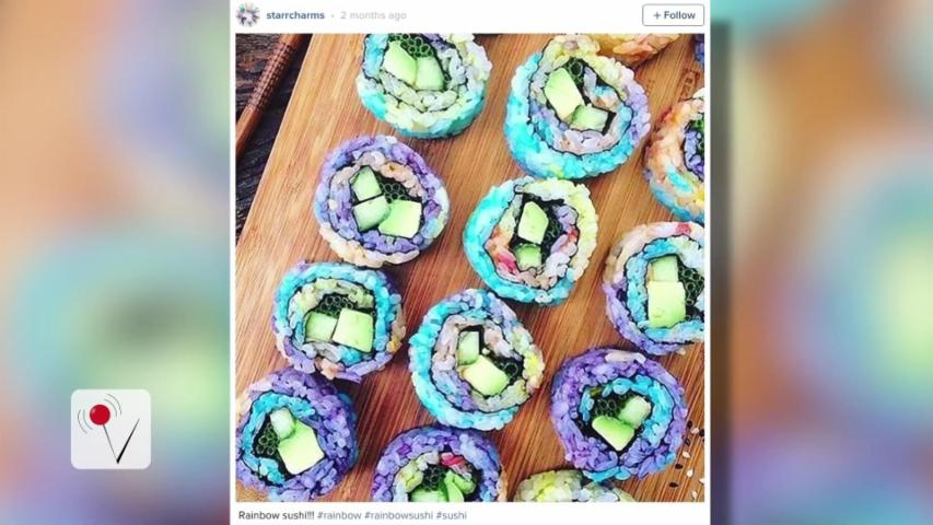 Rainbow Sushi is Taking Over Instagram