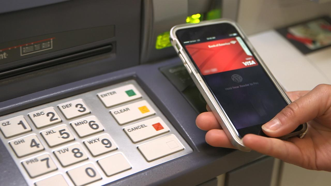 Use Your Phone Instead of a Card at the ATM