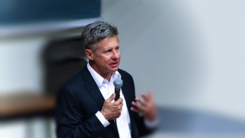 America Is About to Have a Third-Party Nominee: Gary Johnson