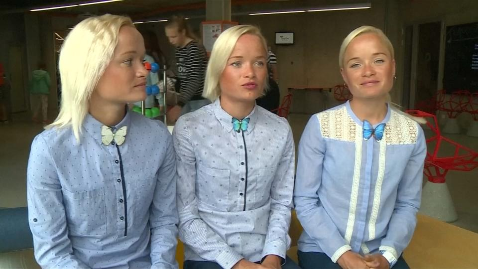 Estonian triplets set to compete in Rio Olympics