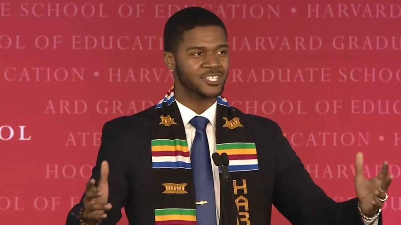 Harvard Grad Delivers An Inspiring Speech