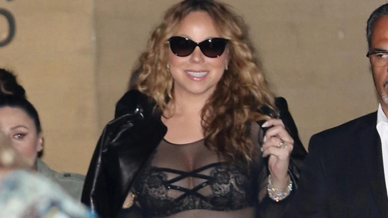 Mariah Carey Goes Racy in Latest Outfit