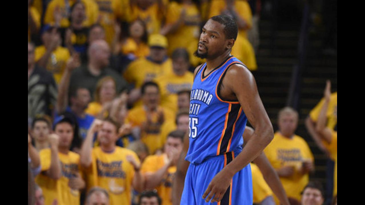 What lies ahead in free agency for Thunder's Kevin Durant?