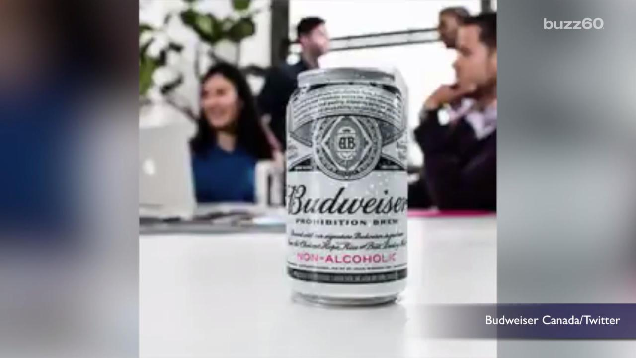 Budweiser Introduces Non-Alcoholic Beer