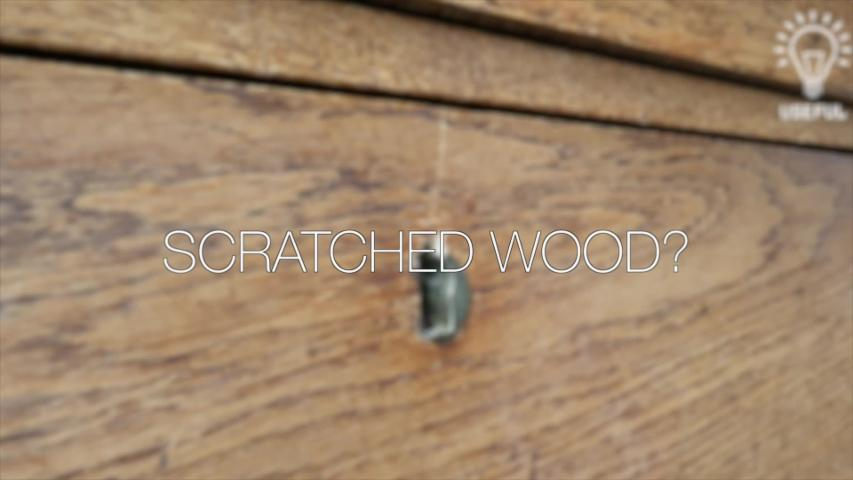 How to instantly remove scratches from wood