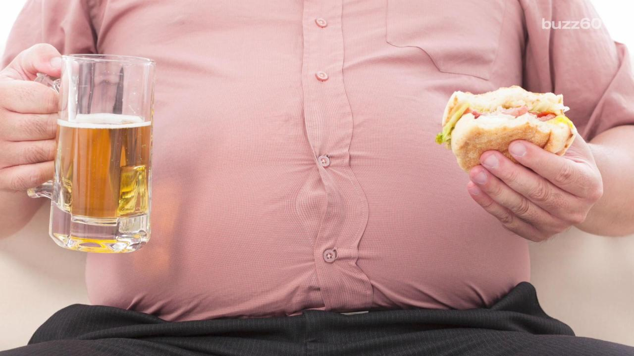 'Beer' Bellies Linked to Prostate Cancer