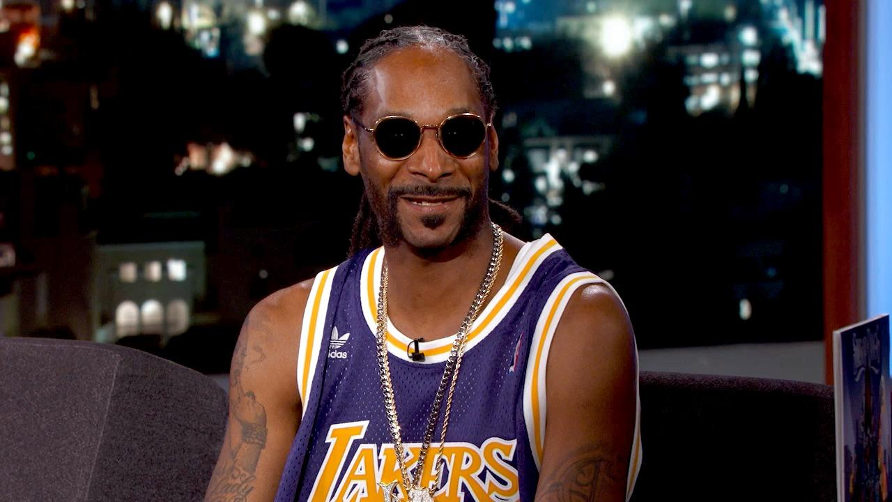 Snoop Dogg Went to Kobe's Last Game