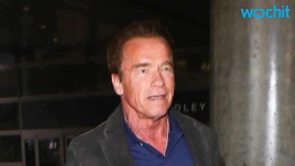 Arnold Schwarzenegger Chased by Elephant While in Africa