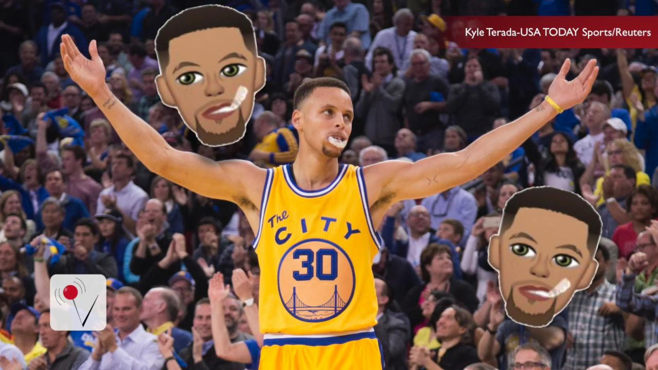 Steph Curry's Emoji App Reaches Number 1