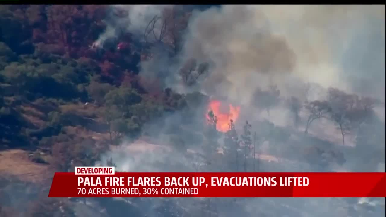 Wildfire in SoCal Re-Ignites, Prompting Mandatory Evacuations