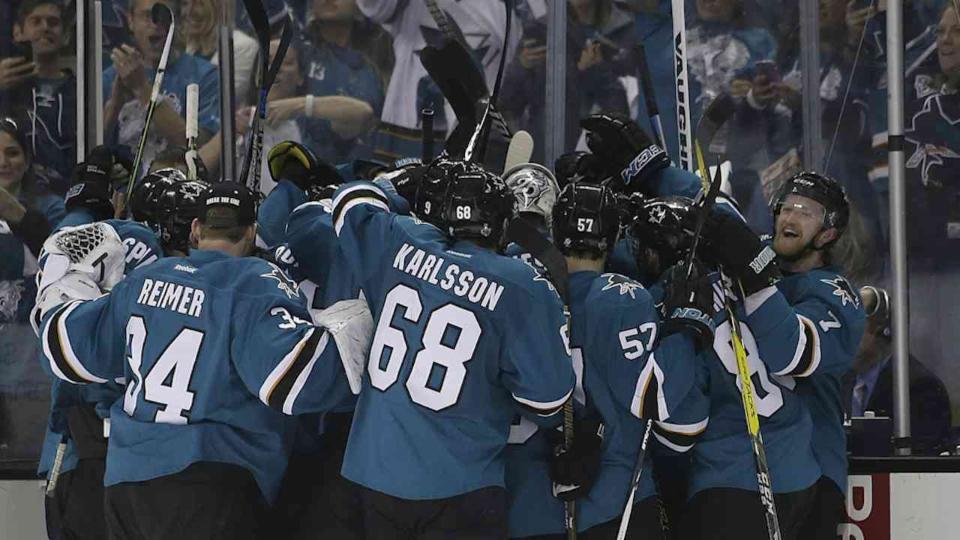 Donskol's OT Goal Lifts Sharks in Game 3