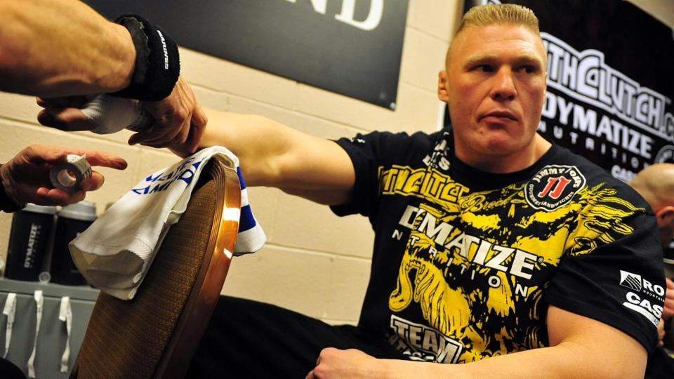 WWE star Brock Lesnar will return to UFC