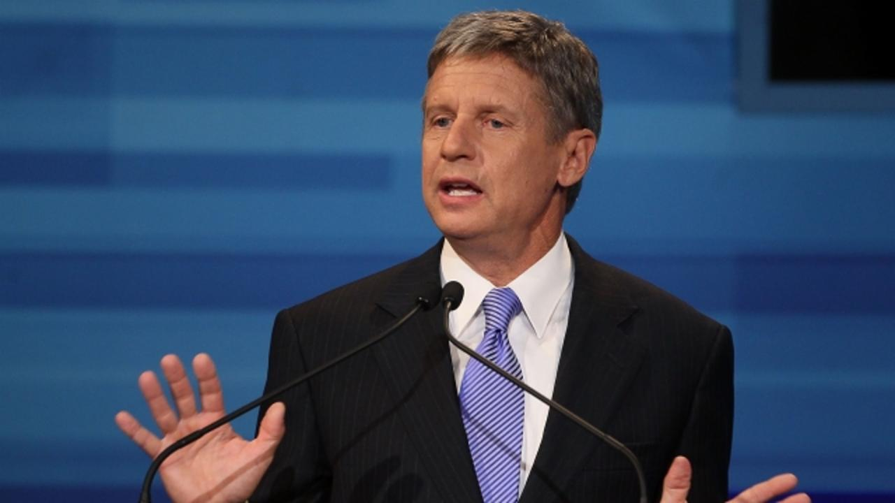 Gary Johnson Called Donald Trump Racist — Twice