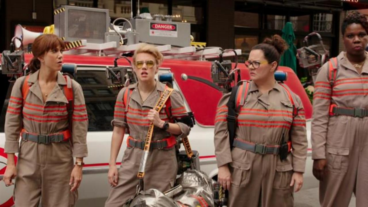 "The ""Ghostbusters"" Ladies Glam It Up"