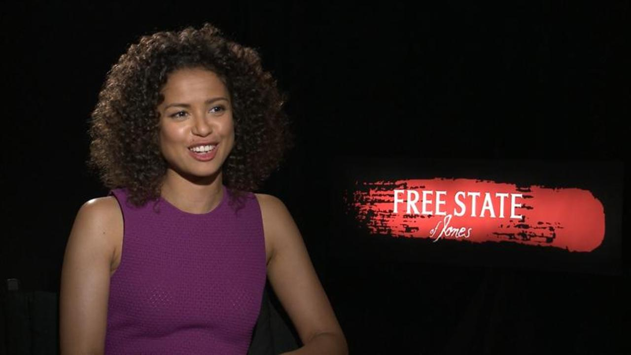 "Gugu Mbatha-Raw's Magical ""Beauty and the Beast"" Filming"