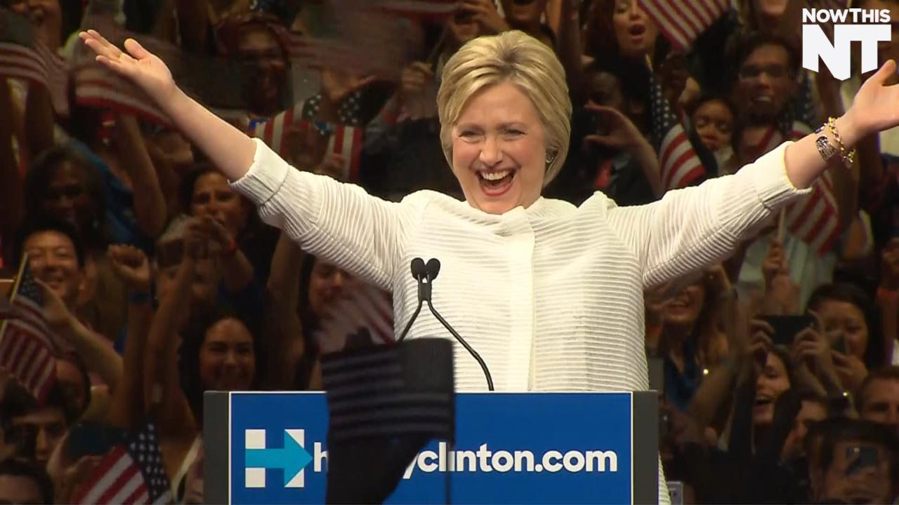 Hillary Clinton's Historic Night
