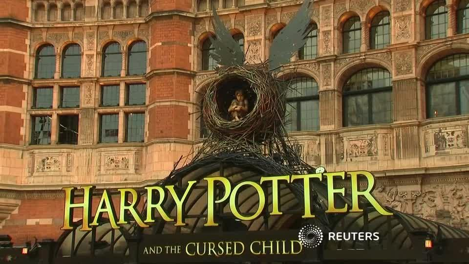 J.K. Rowling Brings Harry Potter To London Stage