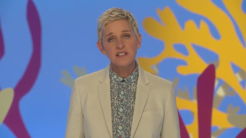 Ellen DeGeneres wants Australians to remember the reef
