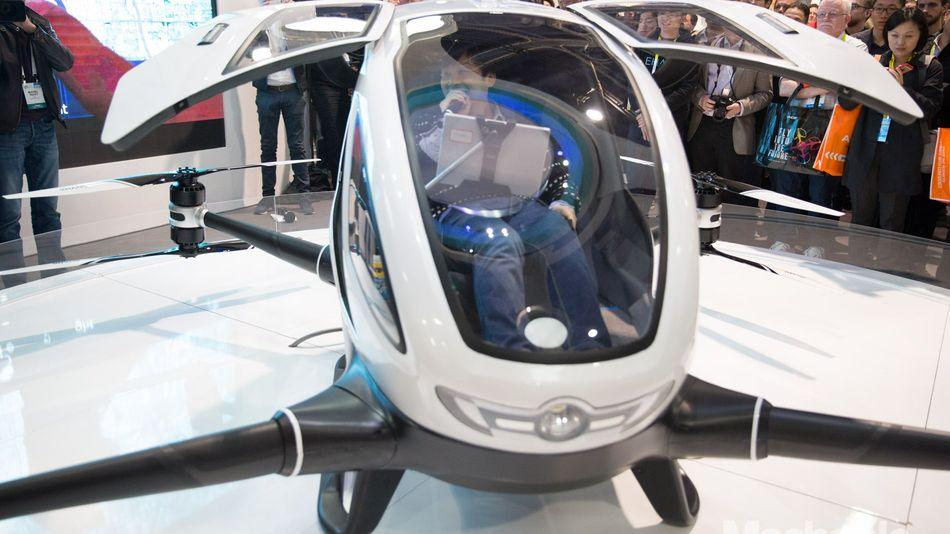 Human 'drone taxi' Ehang will test-fly in Nevada
