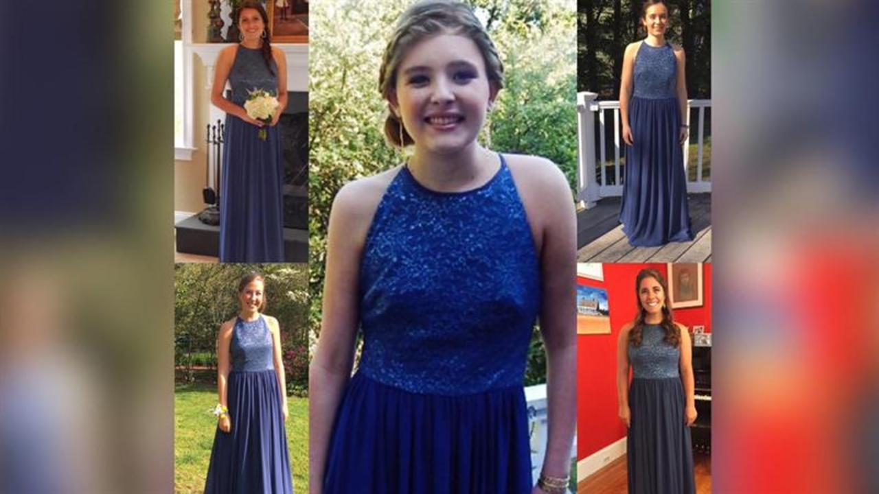 Teens wear same prom dress in memory of friend who died
